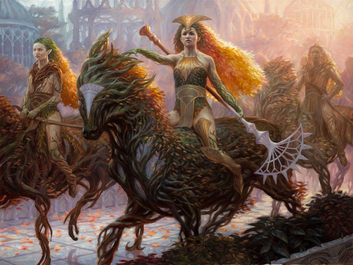 Image result for knight of autumn mtg art