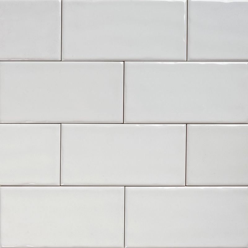 Kitchen Wall Tiles Textures: Subway White Gloss Wall Tiles 150×75 Classico Textured In