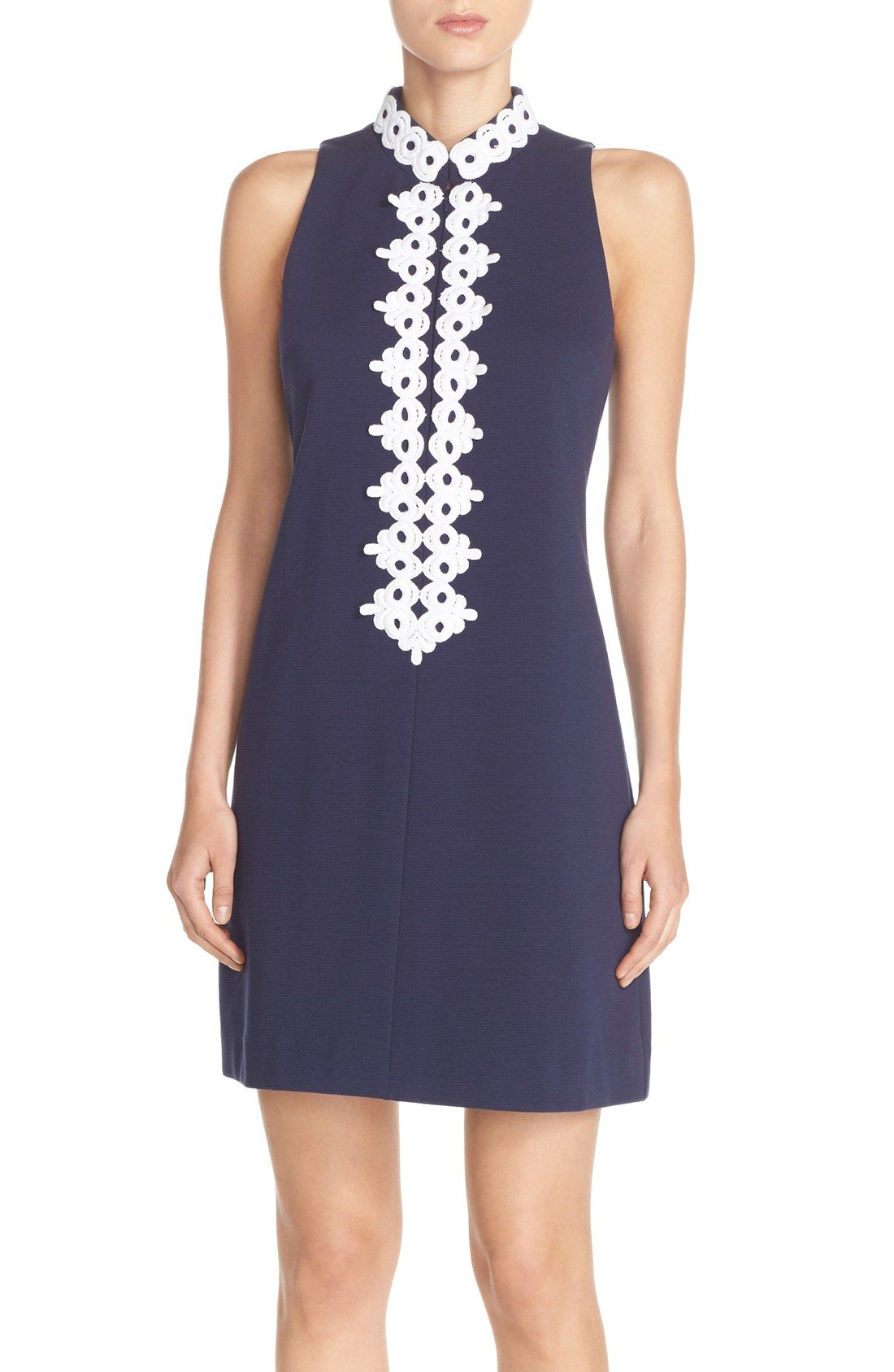 Lilly Pulitzer® \'Callista\' Ottoman Sheath Dress | rochii de zi ...