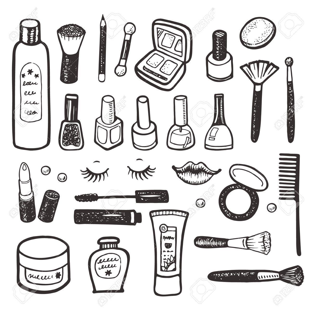 Afbeeldingsresultaat Voor Schoonheidsspecialist Doodle Cosmetics