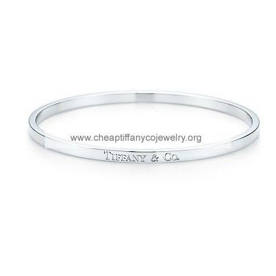 Tiffany And Co Bangle T Co Silver 048