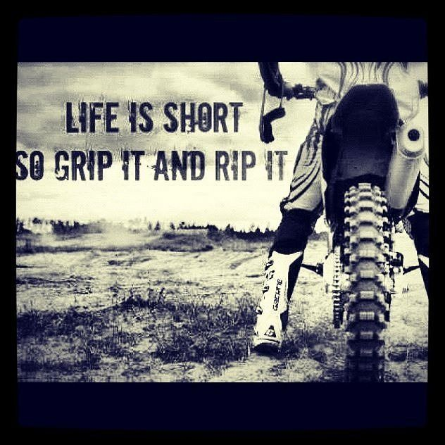 Life Is Short Motorcycle Mx Dirtbike Motocross Supercross