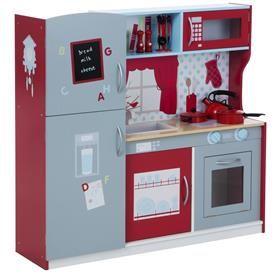 Wooden Kitchen Play Set | Kmart | toys | Wooden kitchen ...