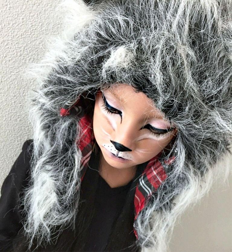 Amazing 25 Halloween Wolf Makeup Ideas   Wolf makeup, Halloween ...