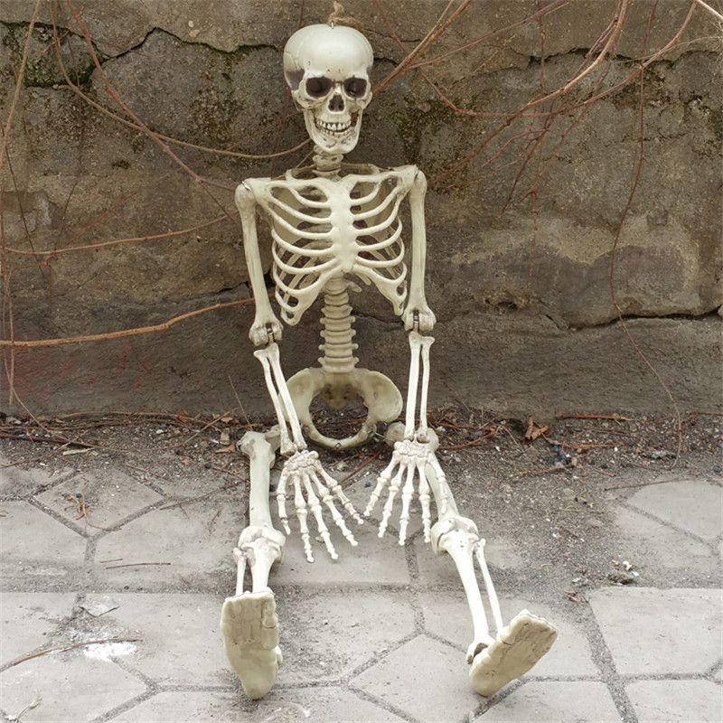 36inch 90cm Halloween Skeleton 100 Plastic Children Size Skeleton