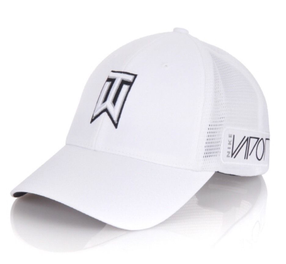 b670e2da6fbfb Nike Golf Men's Tiger Woods TW Golf Hat 639668 White SIZE M/L Vapor #Nike