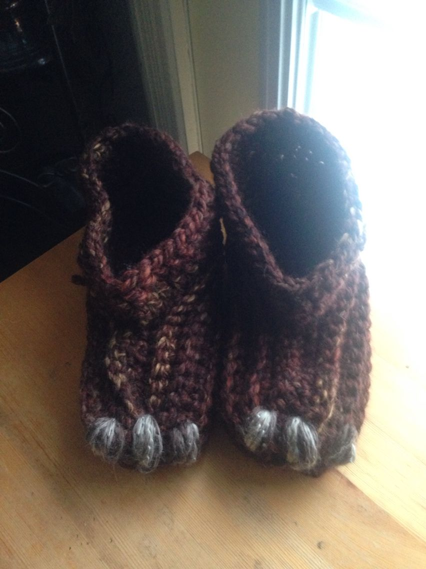 Took After To Make Google For Free Patterns On Monster Slippers