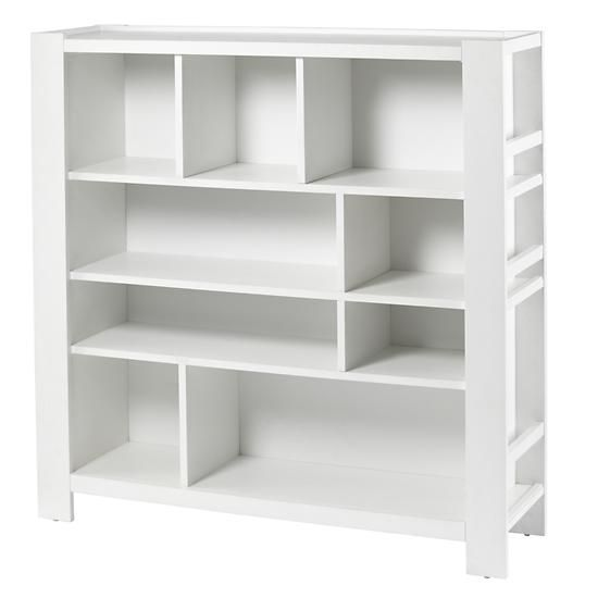 Kids' Bookcase: Kids White Compartment Cubby Bookcase in Bookcases | The  Land of Nod - Kids' Bookcase: Kids White Compartment Cubby Bookcase In Bookcases