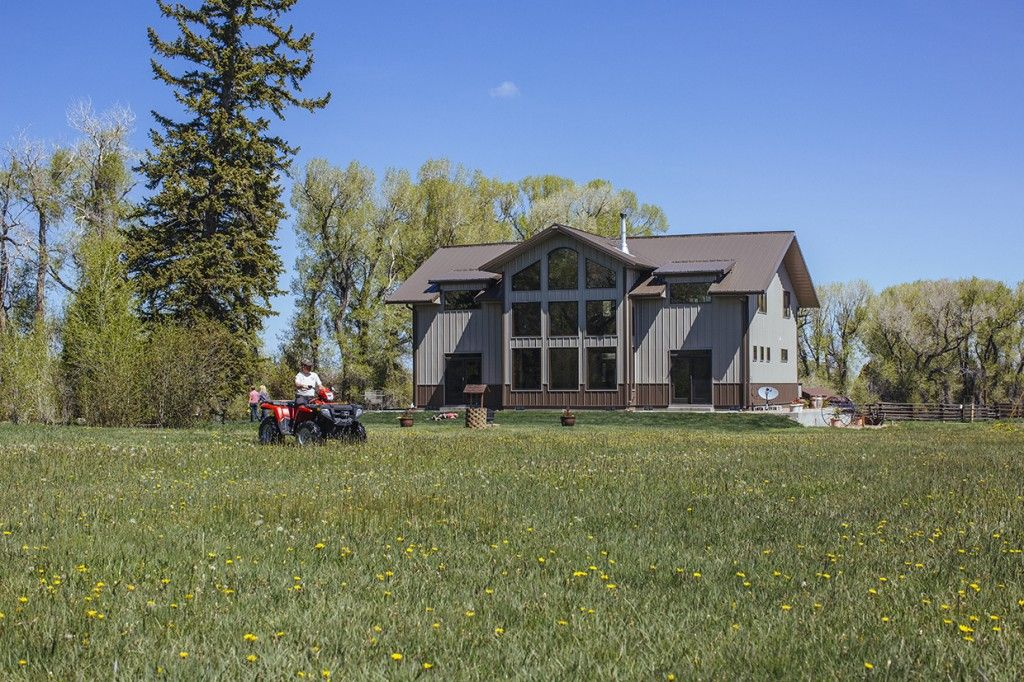 Morton buildings home in wyoming homes pinterest for Morton building cabin