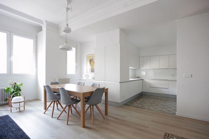 Reforma de un piso centenario centenario pisos y baldosa for Decoracion piso techos altos