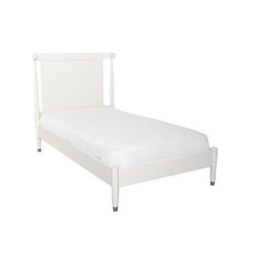 Best Dwellstudio Mid Century Twin Bed In French White Dwell St 640 x 480