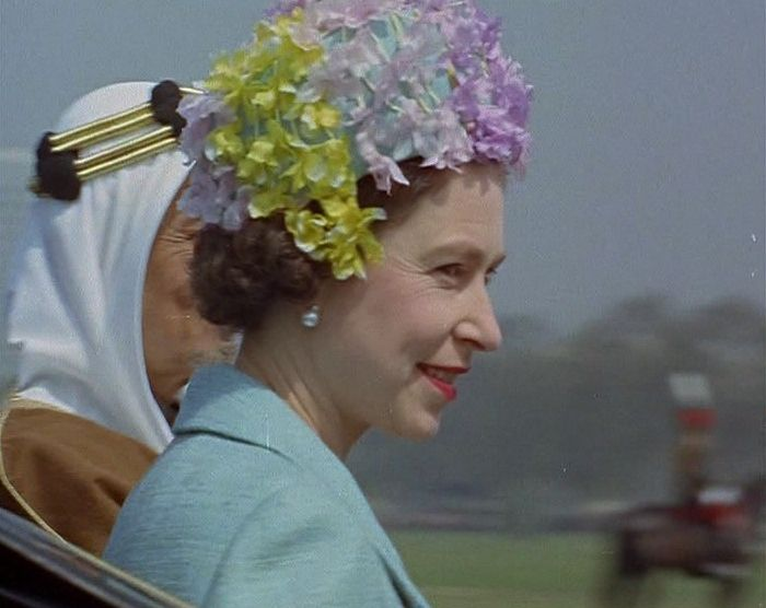 The Queen's Hats - British Pathé #queenshats