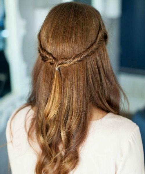 Simple Braided Hairstyles 21 Cute & Easy Updo Hairstyles  Updo Half Updo Hairstyles And