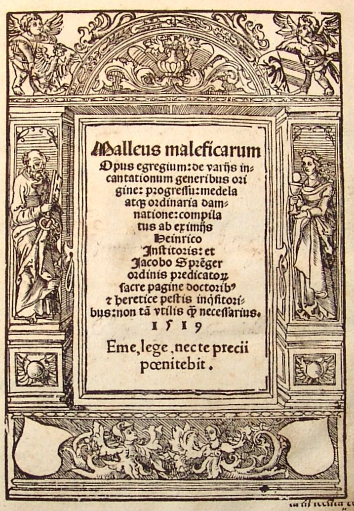Deviant Witch: Malleus Maleficarum | A discovery of witches, Witch, Witch  books