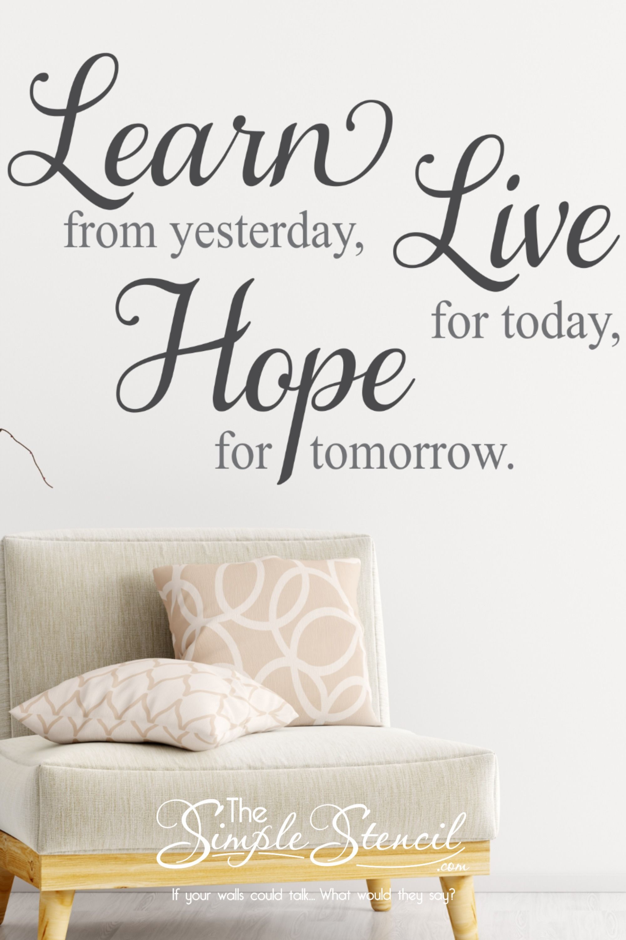 Have Hope Decal Vinyl Wall Sticker Art Home Sayings Popular