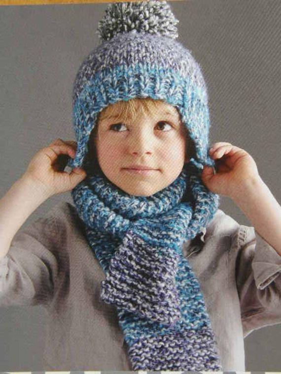 fiche tricot pour faire un bonnet et une charpe pour enfant laine phildar doudous. Black Bedroom Furniture Sets. Home Design Ideas