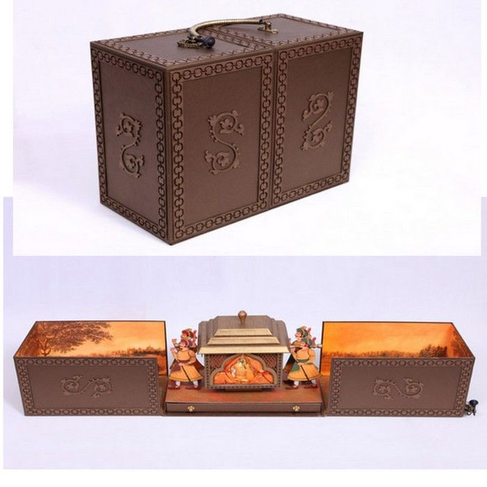 Unique Indian Wedding Invitation Boxes That WOW