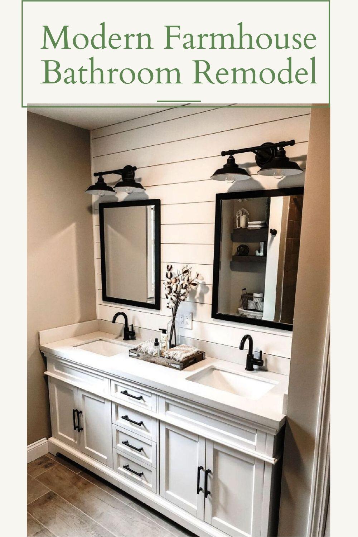30++ Farmhouse bathroom remodel most popular