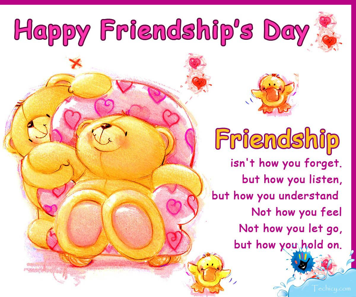 Friendship Day Pics With Quotes: {49 Best} Exclusive Friendship Day Greetings, Friendship
