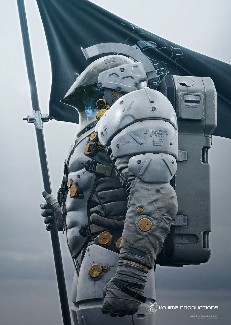 Hideo Kojima muestra al completo Ludens, el personaje tras el logo de su  estudio | Ciudad futurista, Conquista espacial, Arte robot