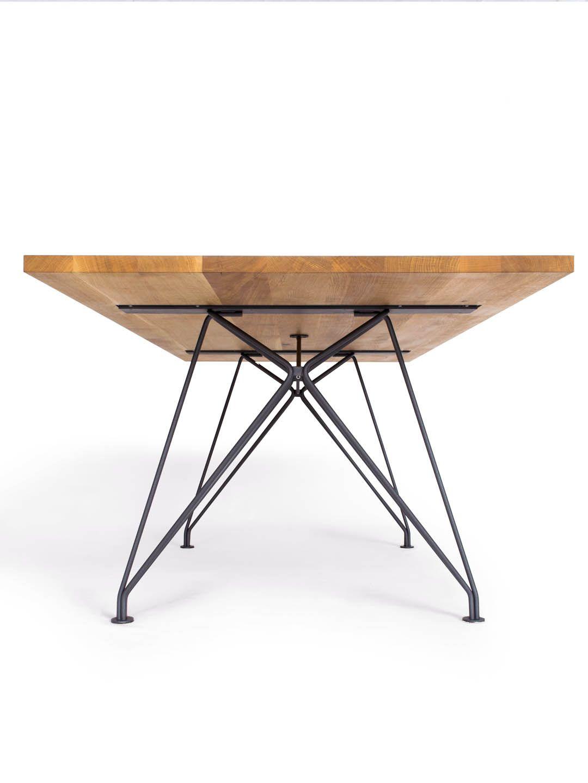 Designtisch Rig Dining Table Iron Hardware Furniture