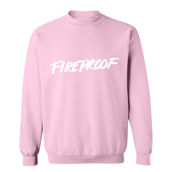 PINK FIREPROOF CREWNECK SWEATSHIRT | Fashion! | Pinterest | Troye ...