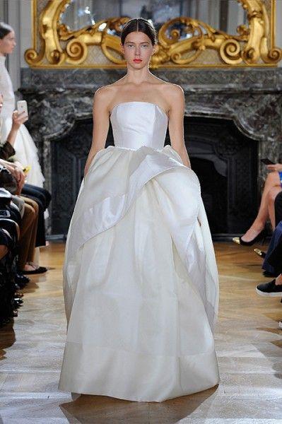 Kaviar Gauche WHITE IRIS: Bridal Couture 2016 #Hochzeitskleider #Couture