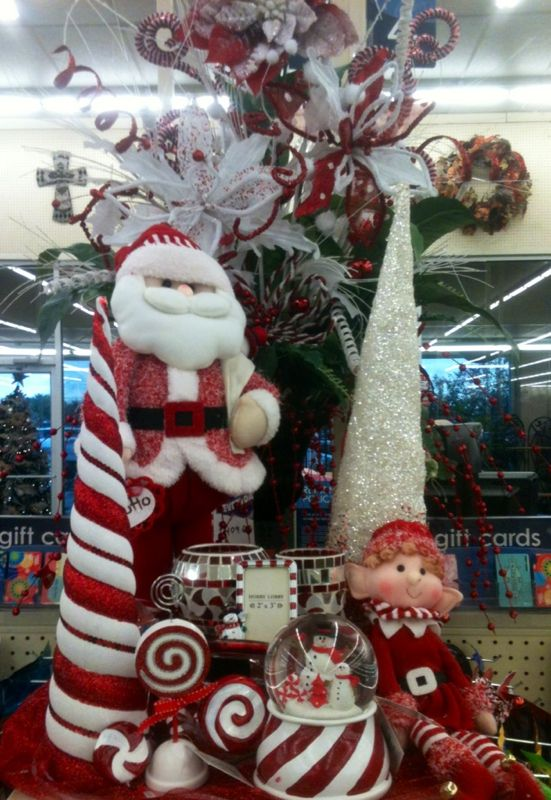 candy cane lane christmas store display - Candy Cane Christmas Shop