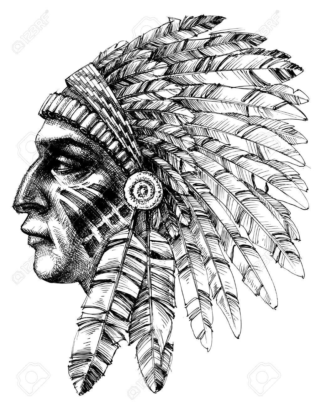 Immagine Correlata Indianer Tattoo Indischer Kopfschmuck Tattoo Indianer Kopfschmuck