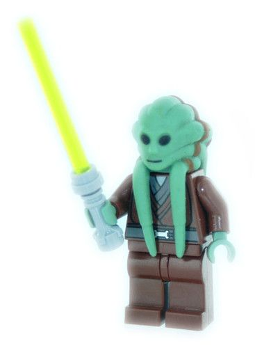 New Lego Star Wars Kit Fisto Jedi Minifig Figure | eBay | My List ...