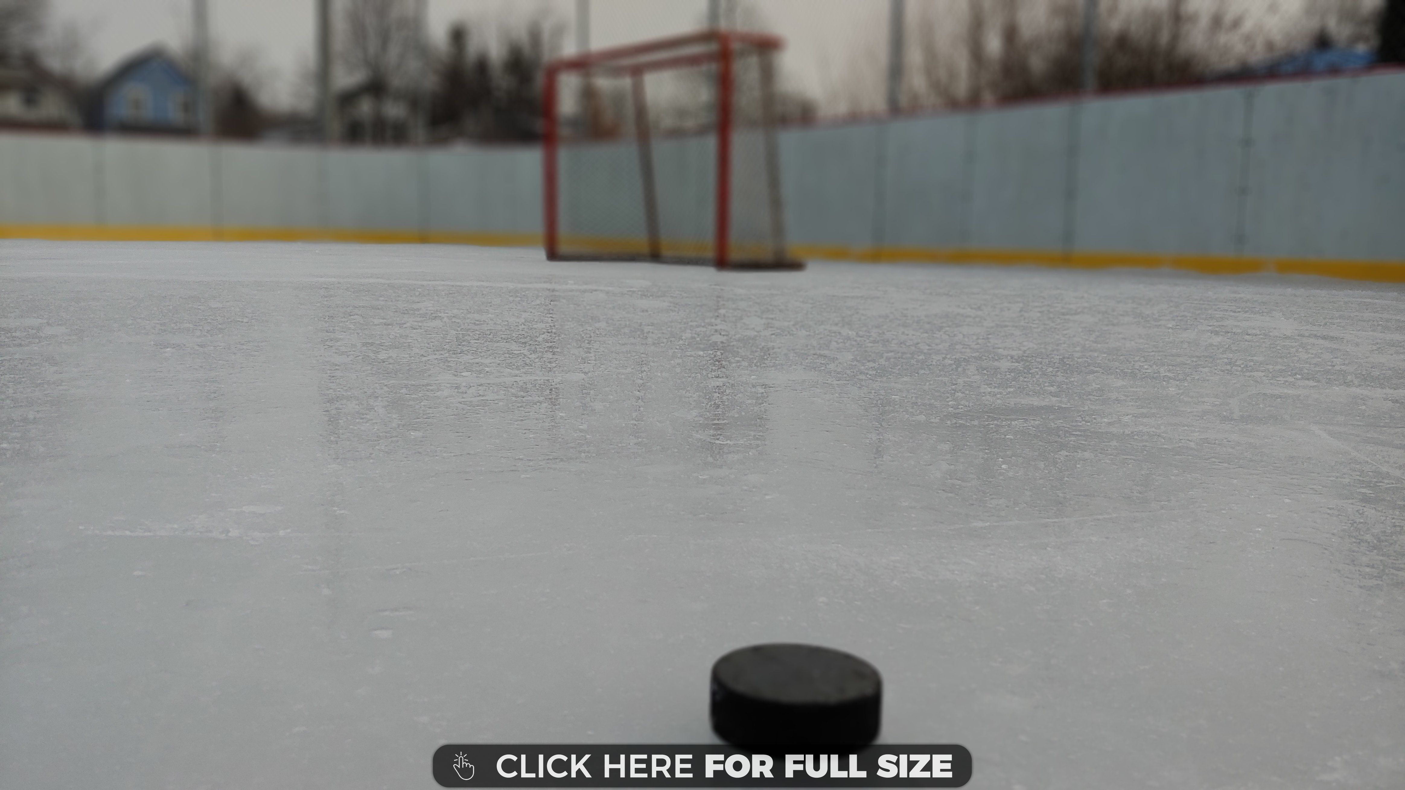 Hockey On The Outdoor Rink 4k Wallpaper Outdoor Rink Outdoor Wallpaper