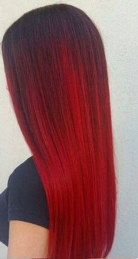 30 Incredible Ideas For Red Ombre Hair Time To Get Wild