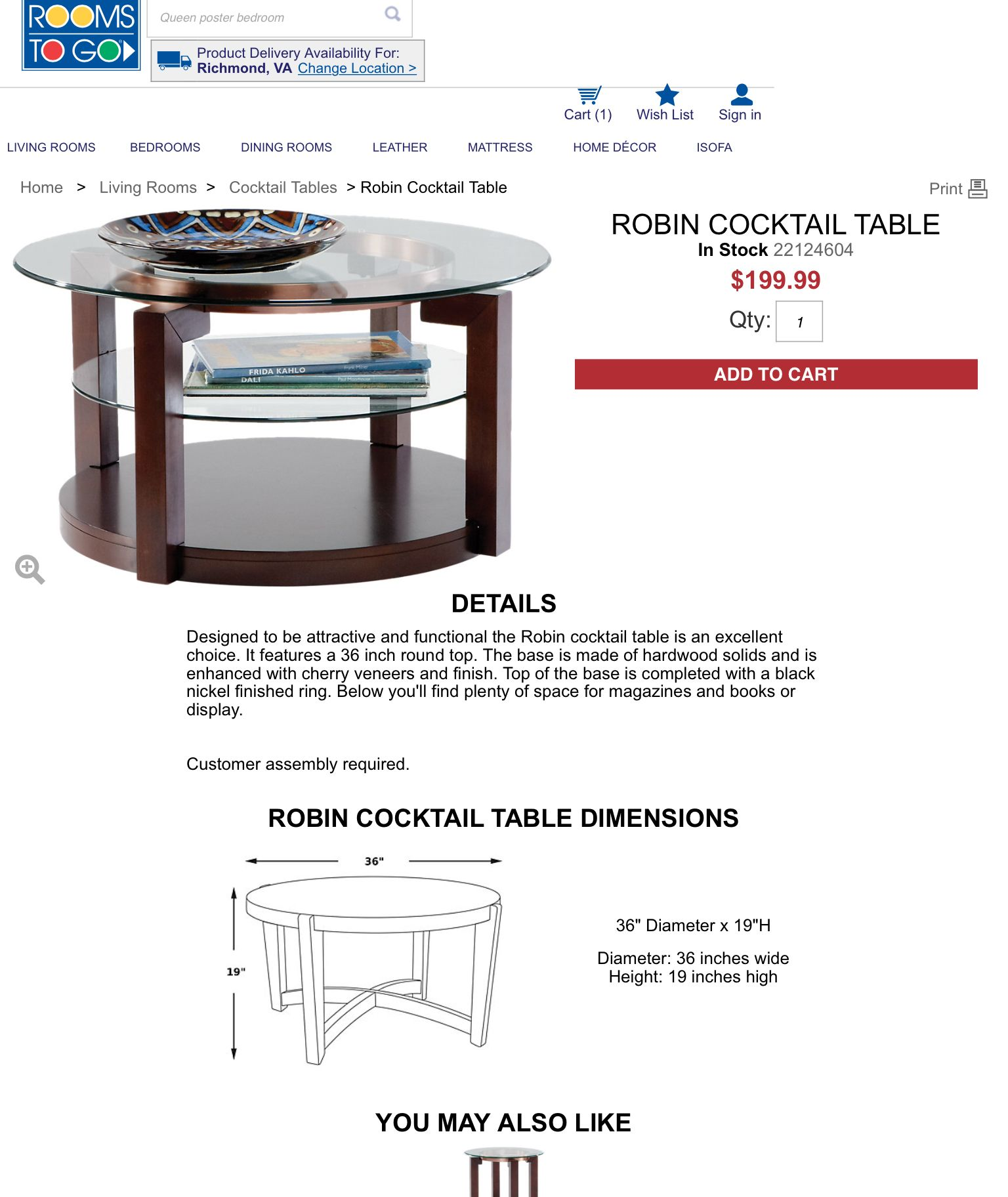 Get Small Mirrored Coffee Table PNG