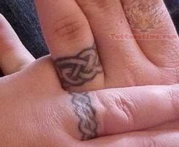 Band Tattoos Celtic Wedding Ring Tattoo Tb S Pinterest
