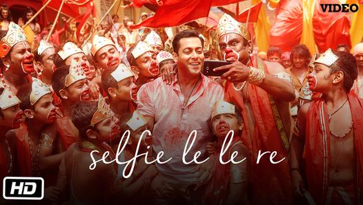 Selfie Le Le Re Video Song Bajrangi Bhaijaan Salman Khan T Series Hindi Movie Song Selfie Song Songs
