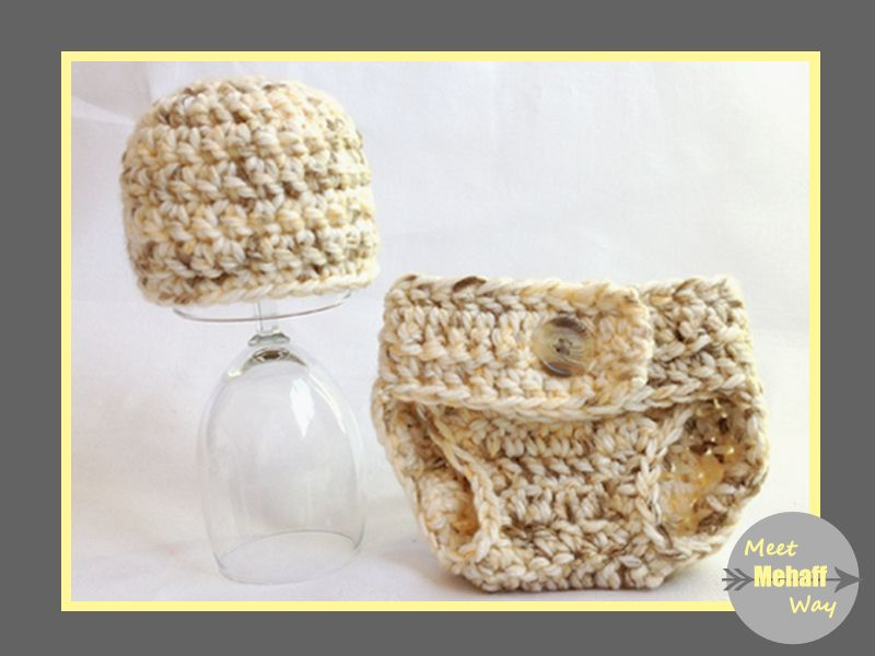 Meet Mehaff Way: Pattern: Easy Crochet Chunky Diaper Cover (0-3 ...