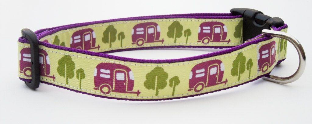 Happy Camper Dog Collar