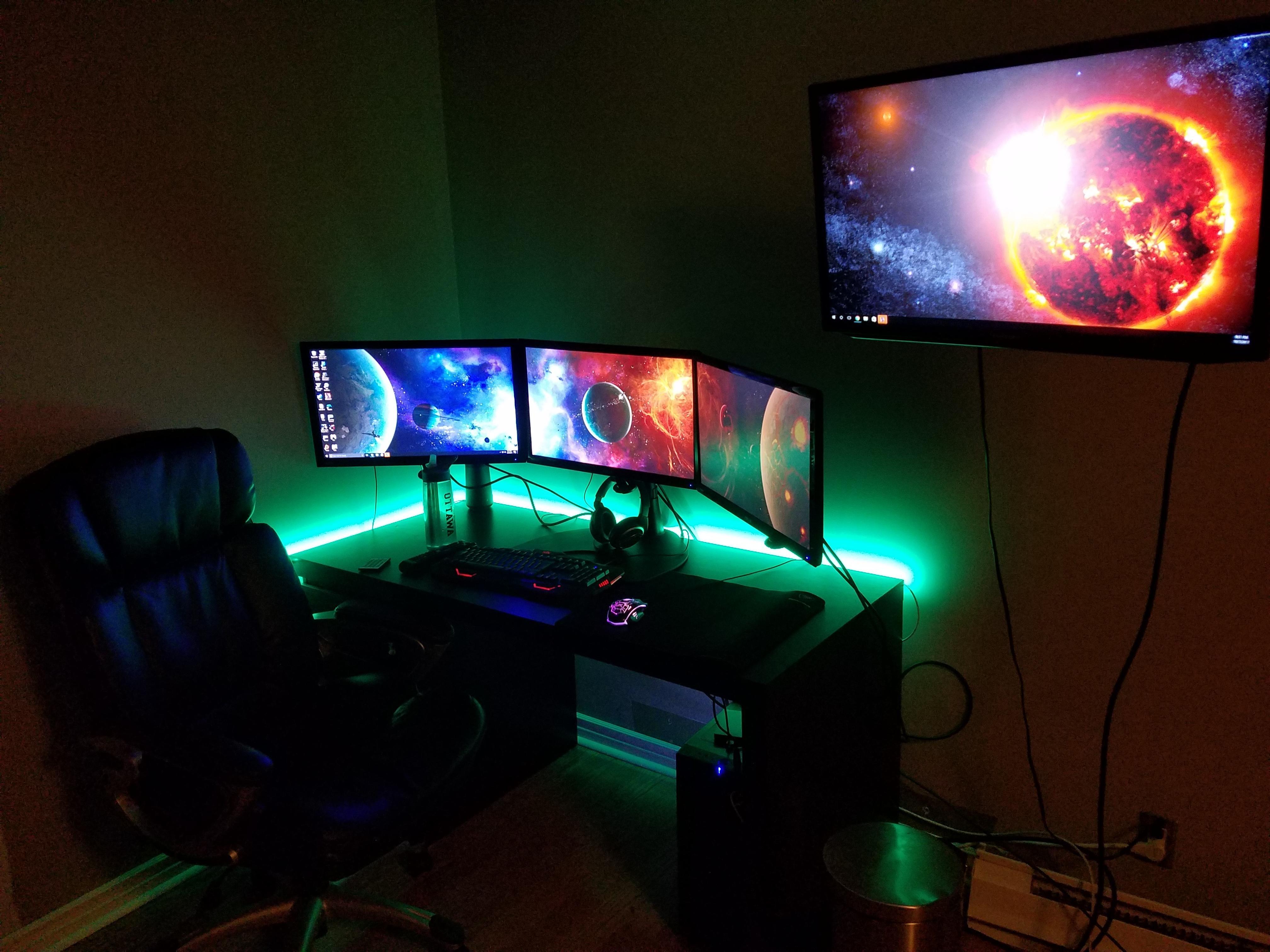 Computer Setup · College Room Setup