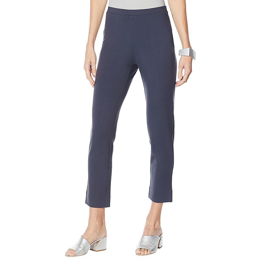 WynneLayers Luxe Knit Ponte Pant From workplace to weekend, you'll live in our easy, luxe ponte knit ankle pants from WynneLayers.