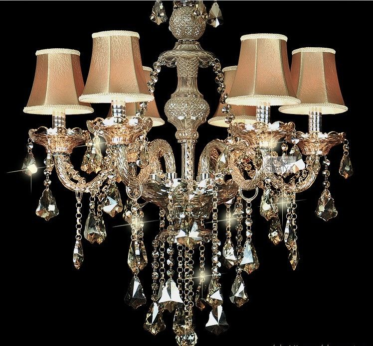 New Lamp Shades For Chandeliers Fancy Lamp Shades For