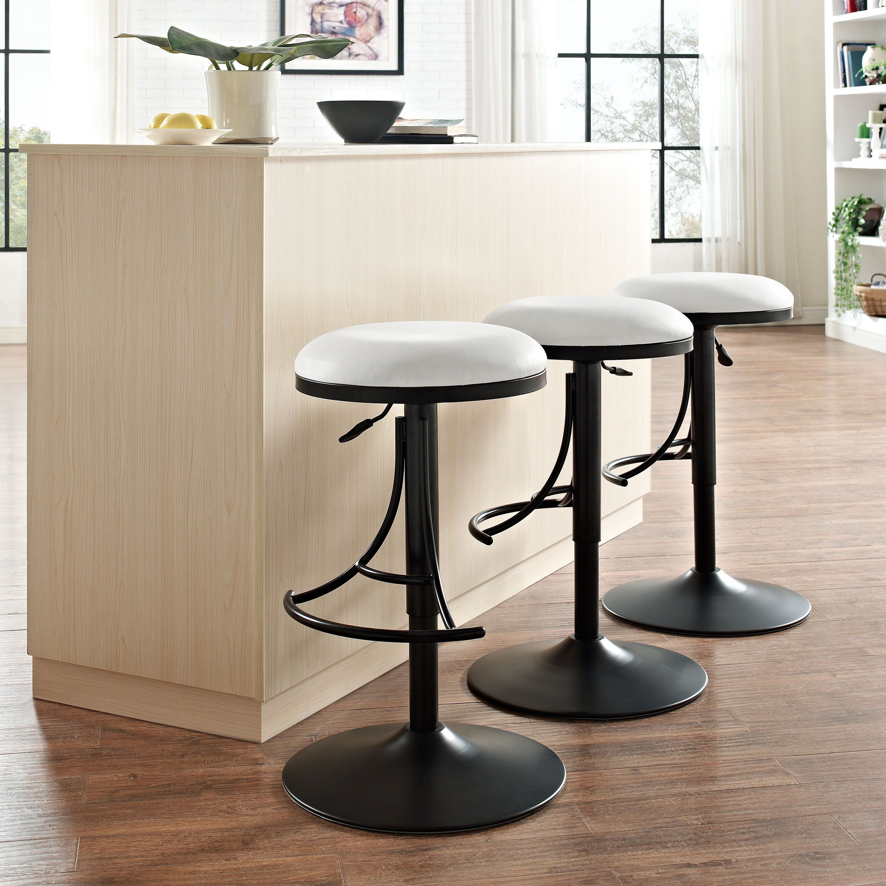 White Metal Counter Height Bar Stool As Is Item Jasper Backless Swivel W White Cushion Grey Crosley Furniture In 2019 Swivel Counter Stools Backless Bar Stools Stool