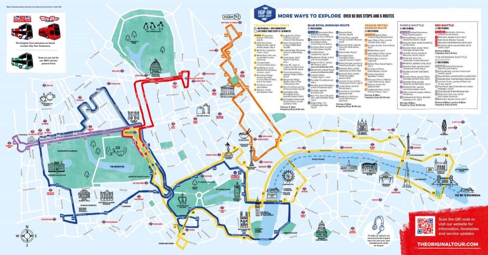 Map Times The Original Tour