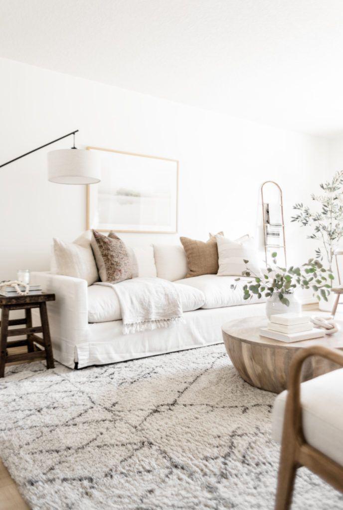 Photo of Living Room Update: World Market Sofa Reveal