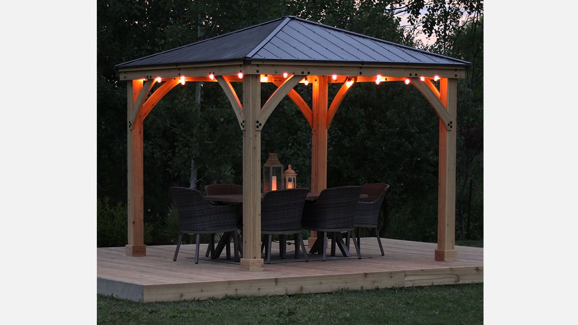 Yardistry Structures In 2020 Gazebo Pergola Outdoor Oasis