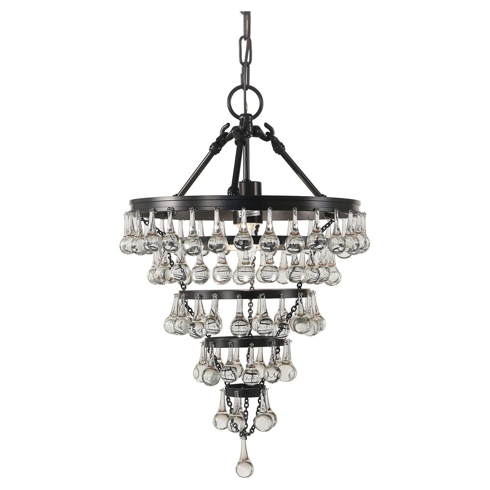 Claire crystal tear drop chandelier abbyson gray chandeliers claire crystal tear drop chandelier abbyson gray arubaitofo Images