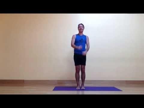 baxter's weekly yoga balance pose dynamic eagle pose