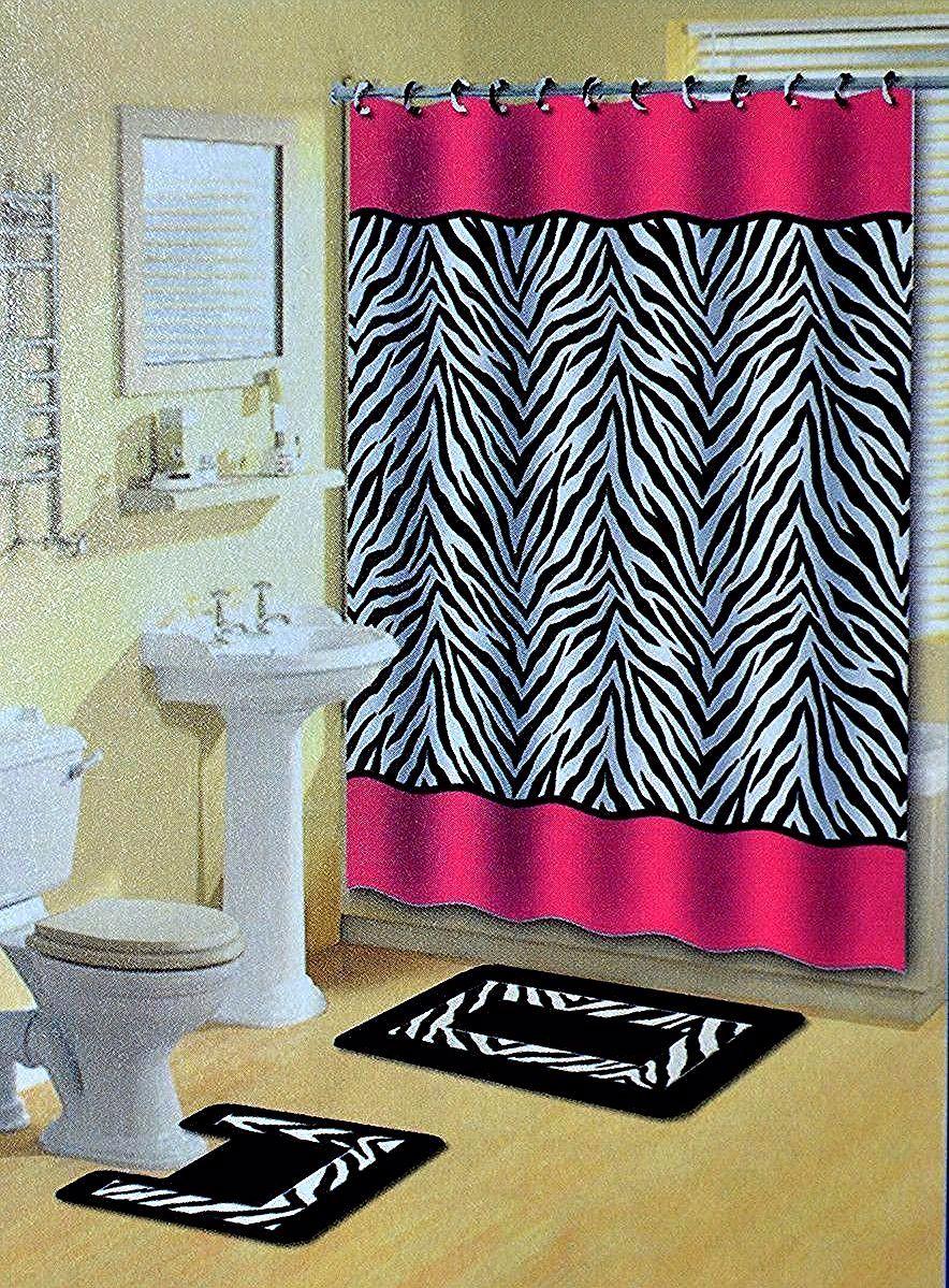 Zebra Curtains Bedroom In 2020 With Images Zebra Bathroom