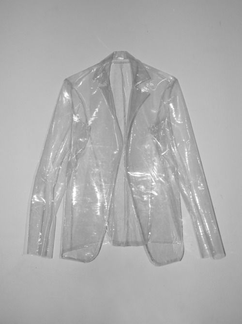 Clear Blazer Perfect For Rainy Days When You Still Want