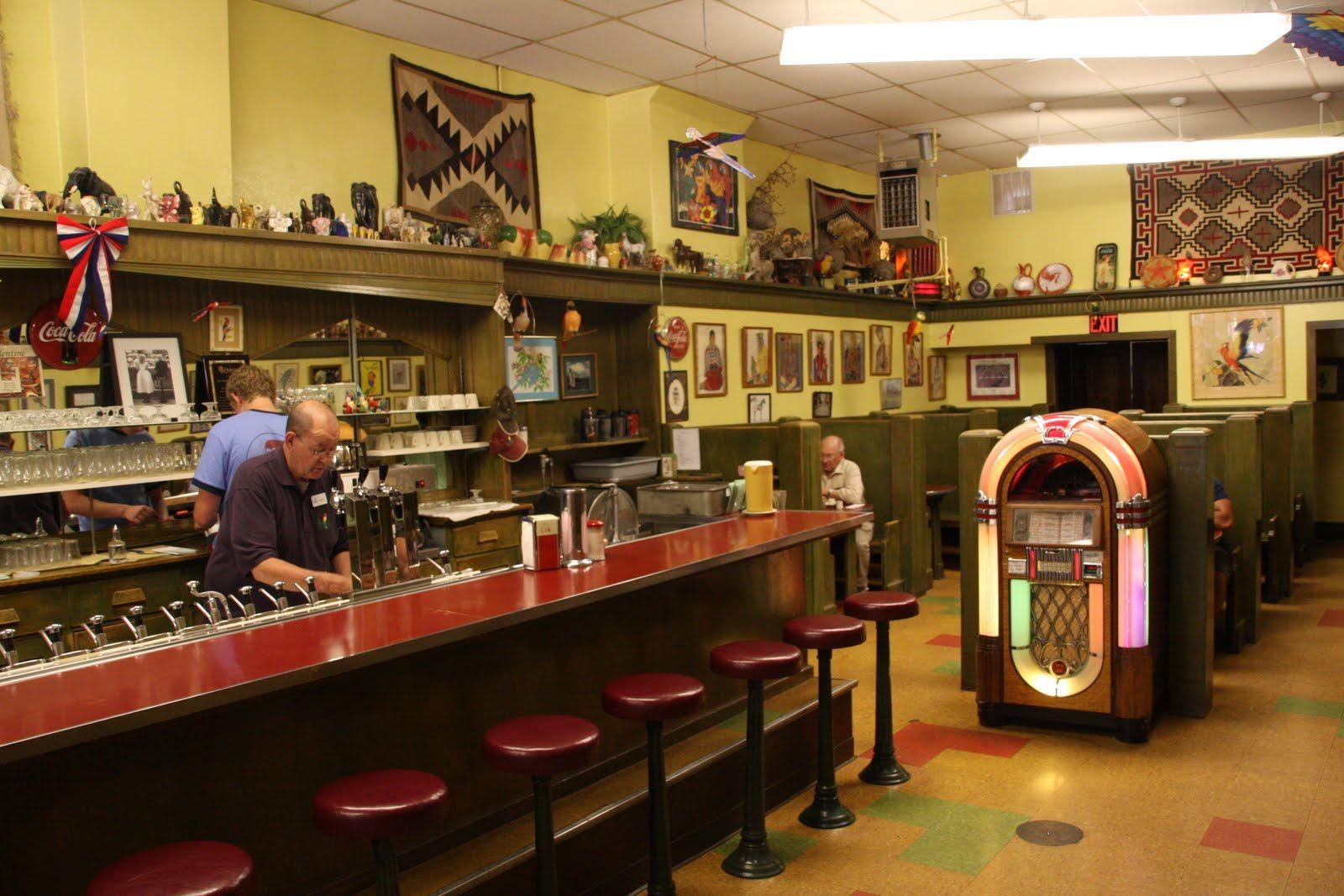 Old fashion soda shop 62