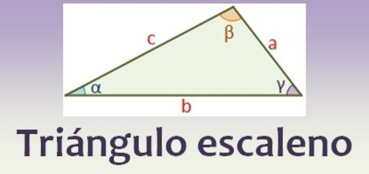 Triángulo escaleno | math | Pinterest | Trigonometría, Trigonometria ...